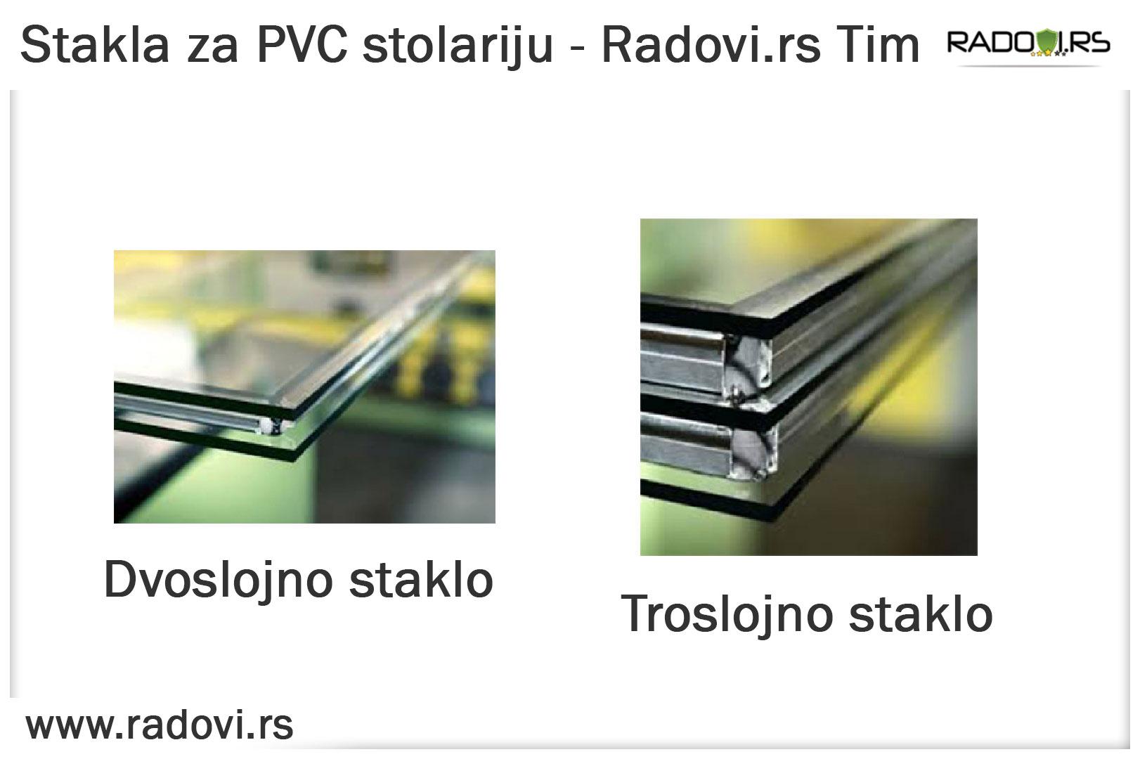Staklo za PVC stolariju - PVC stolarija Tim - Radovi.rs