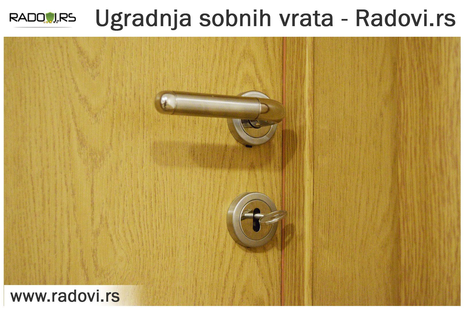 Ugradnja sobnih vrata - PVC stolarije Tim - Radovi.rs