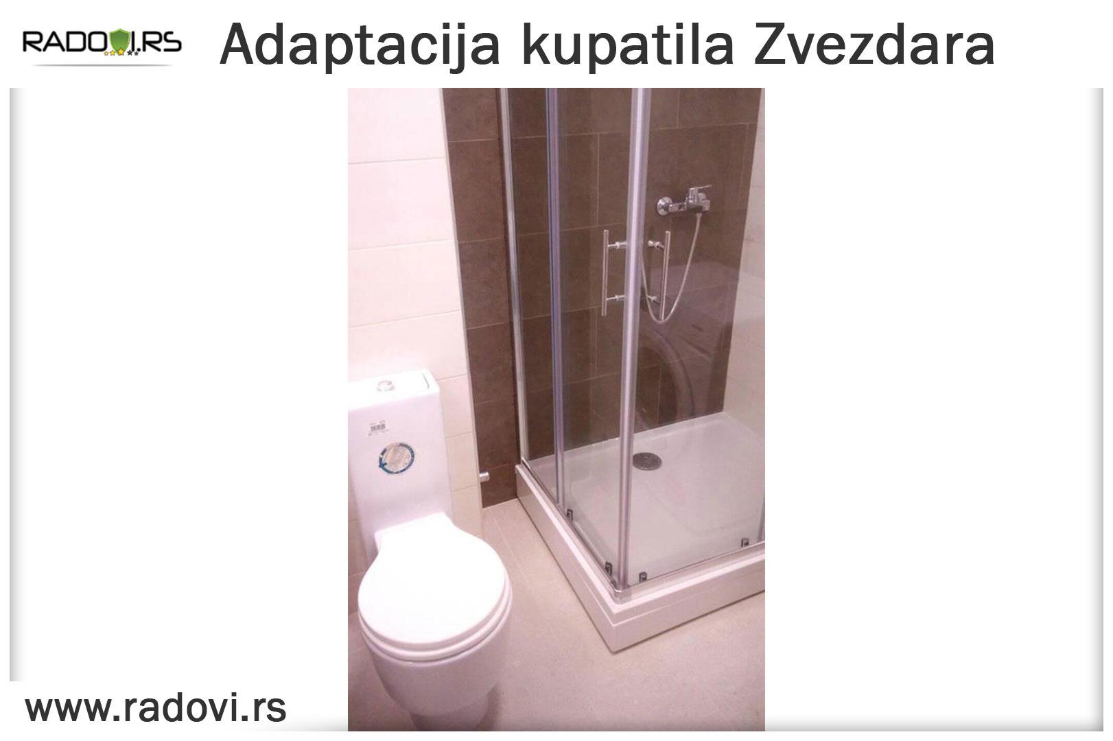 Adaptacija kupatila Zvezdara - Vodoinstalater Beograd Tim - Radovi.rs