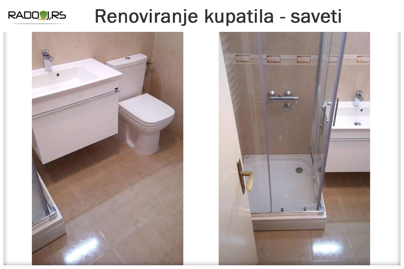 Renoviranje kupatila(adaptacija kupatila) - Vodoinstalater Beograd - Radovi.rs