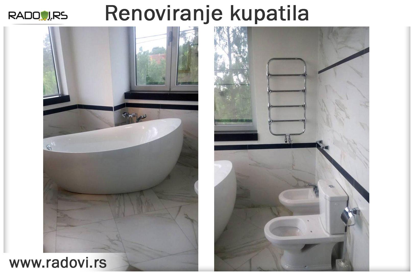 Renoviranje kupatila - Vodoinstalater Beograd Tim- Radovi.rsTim