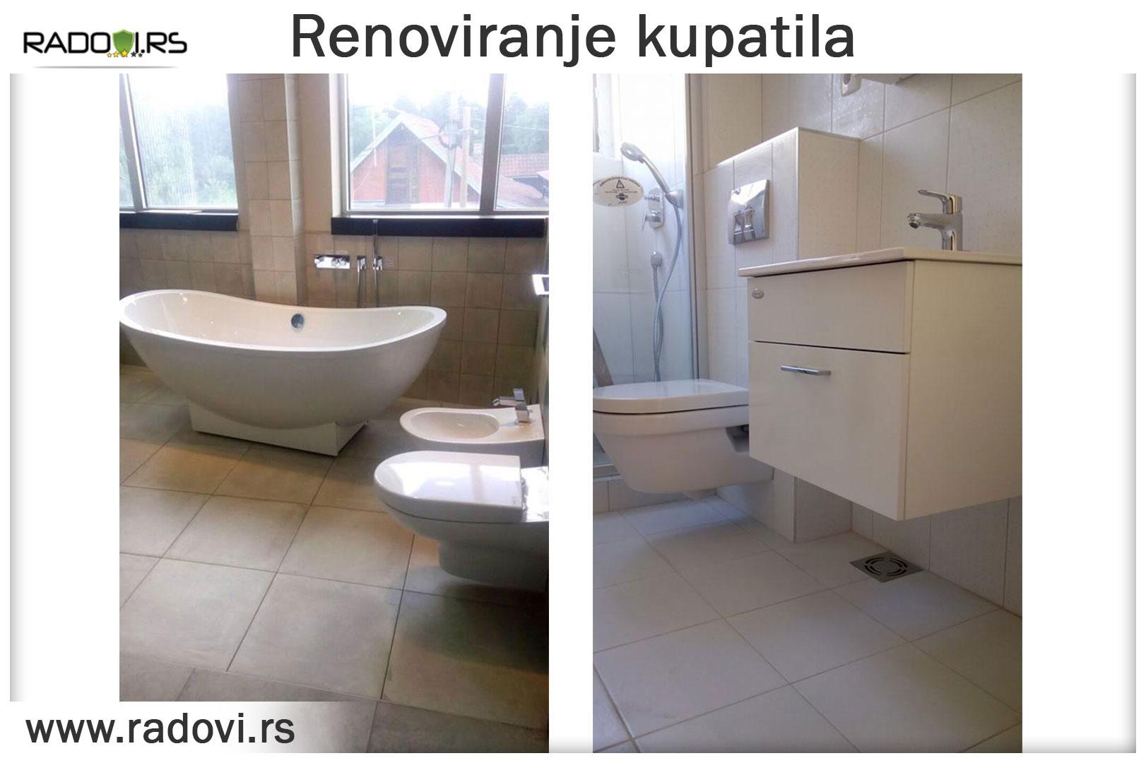 Renoviranje kupatila – Vodoinstalater Beograd Tim- Radovi.rs Tim