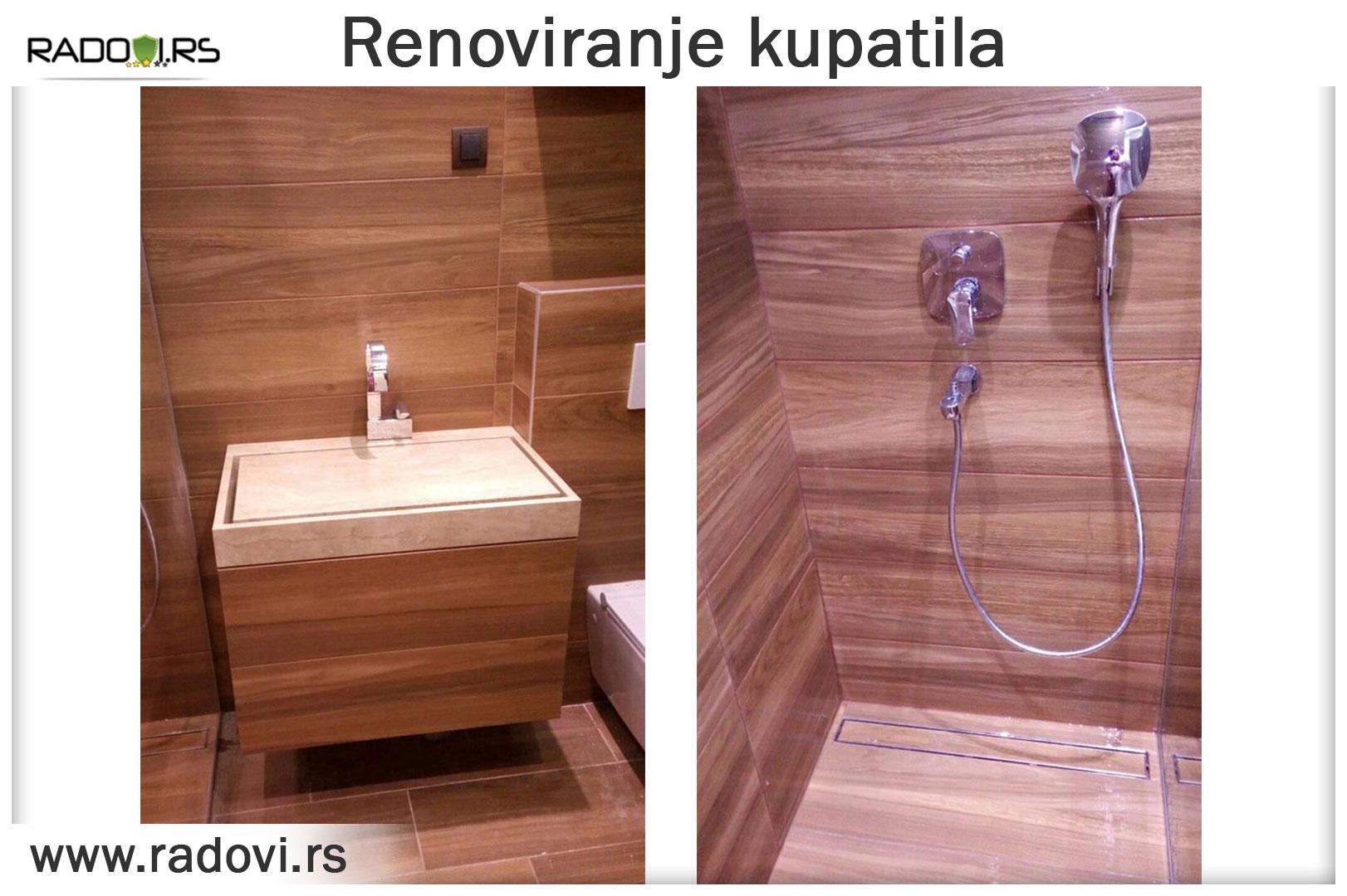 Renoviranje kupatila - Vodoinstalater Beograd - Radovi.rs Tim