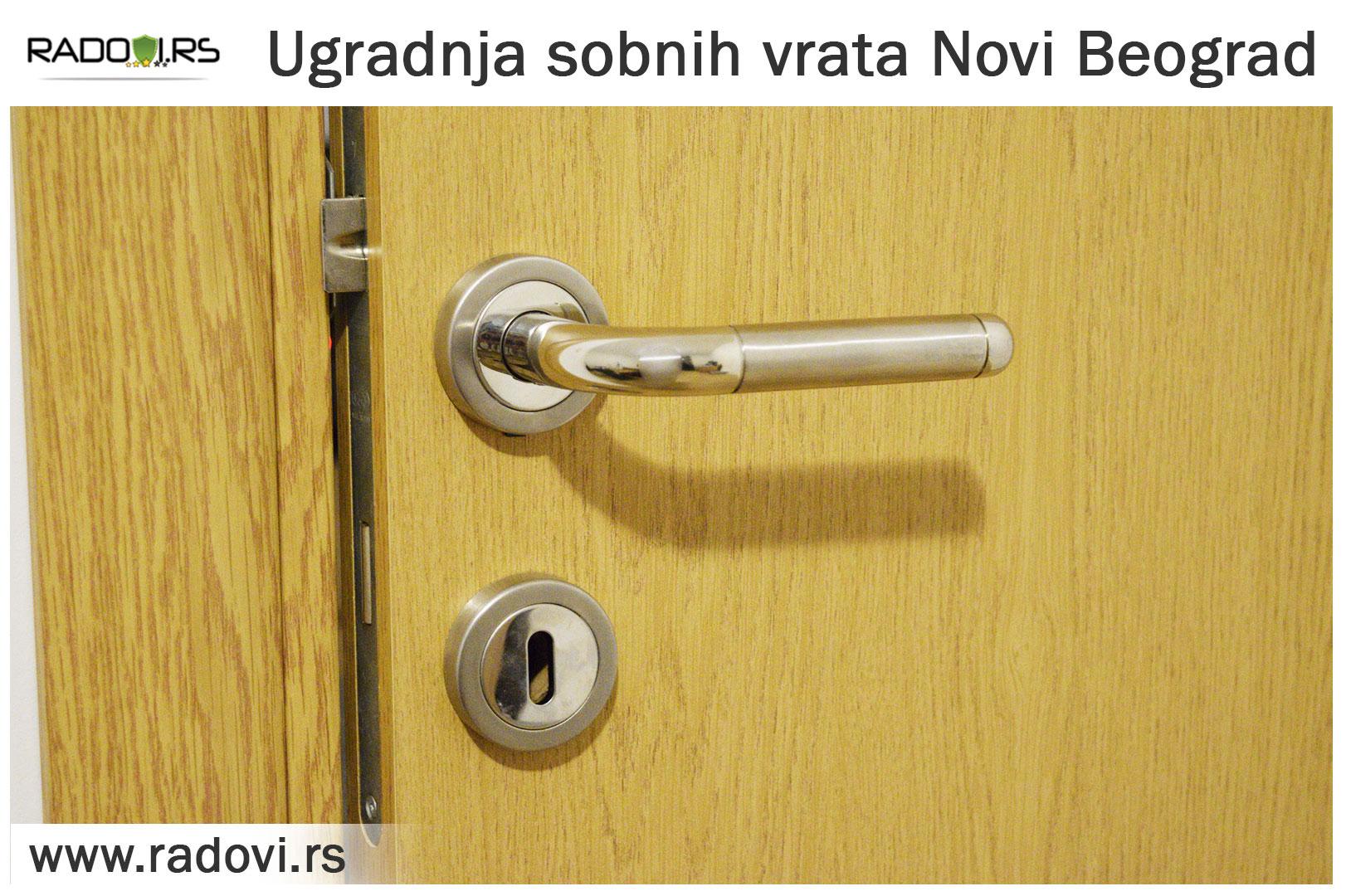 Ugradnja sobnih vrataNovi Beograd - PVC stolarija Tim - Radovi.rs