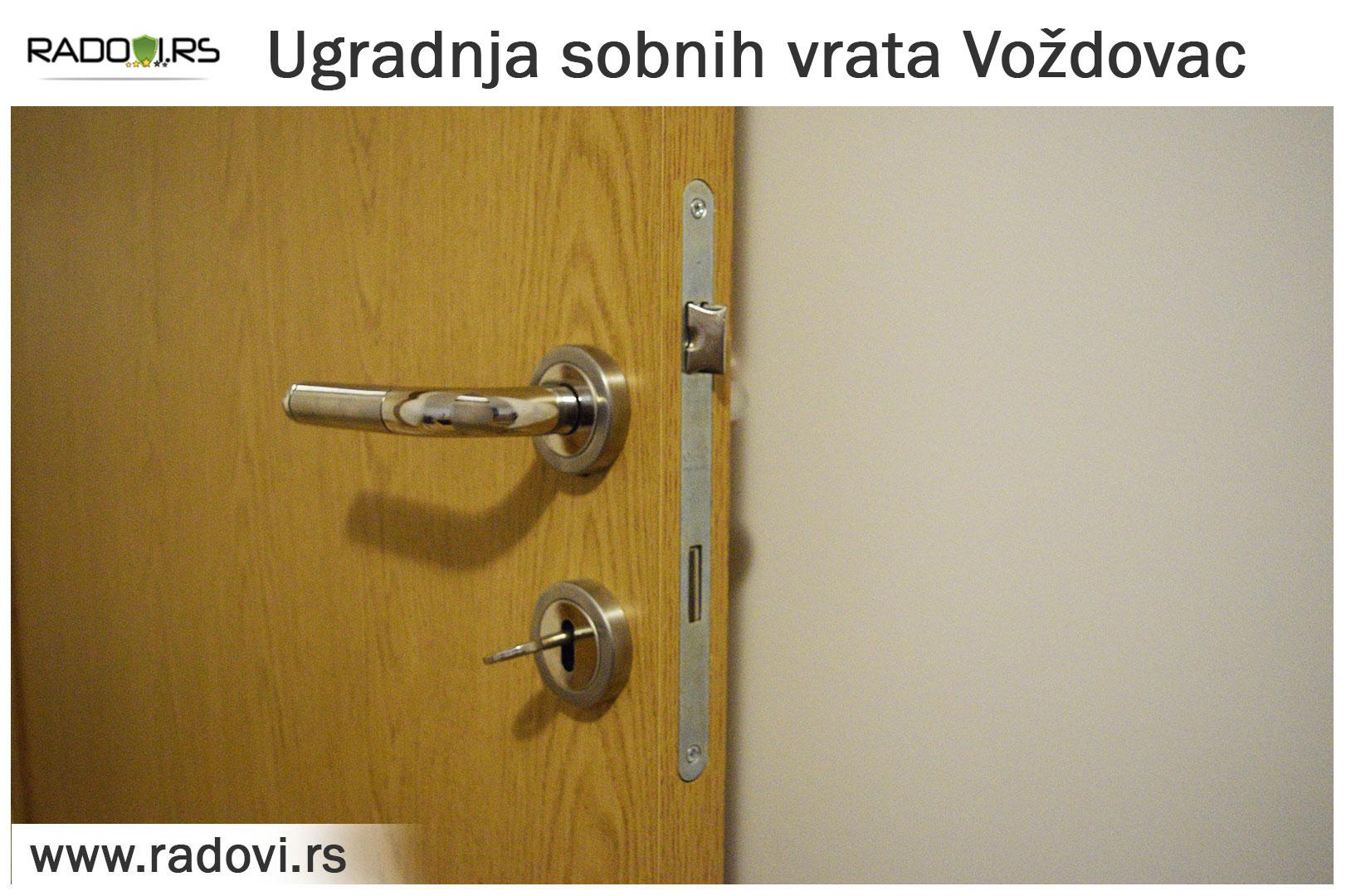 Ugradnja sobnih vrataVoždovac - PVC stolarija Tim - Radovi.rs
