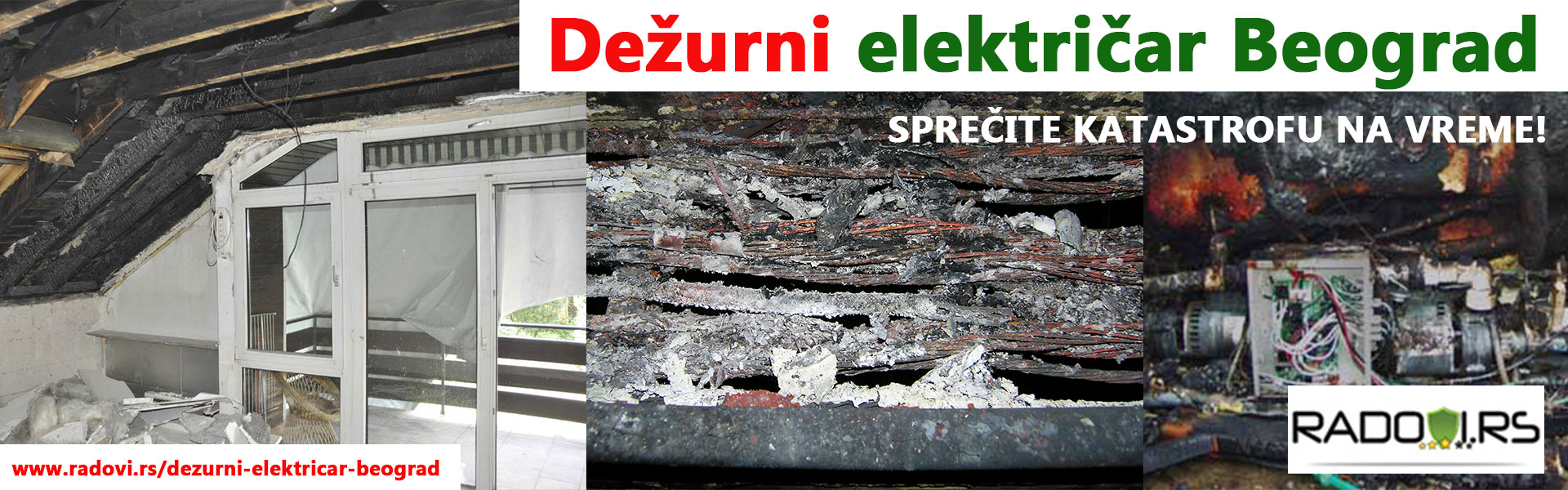 Dežurni električar Beograd - Električar Beograd Tim - Radovi.rs
