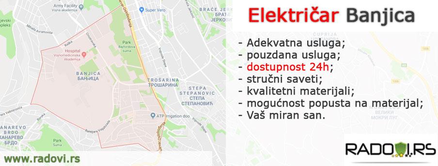 Električar Banjica - Električar Beograd Tim - Radovi.rs