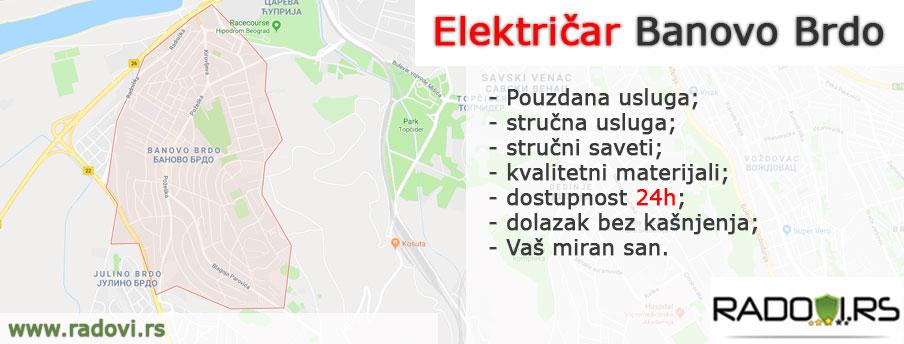 Električar Banovo Brdo - Električar Beograd Tim - Radovi.rs