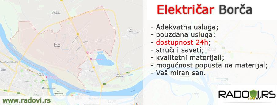 Električar Borča - Električar Beograd Tim - Radovi.rs