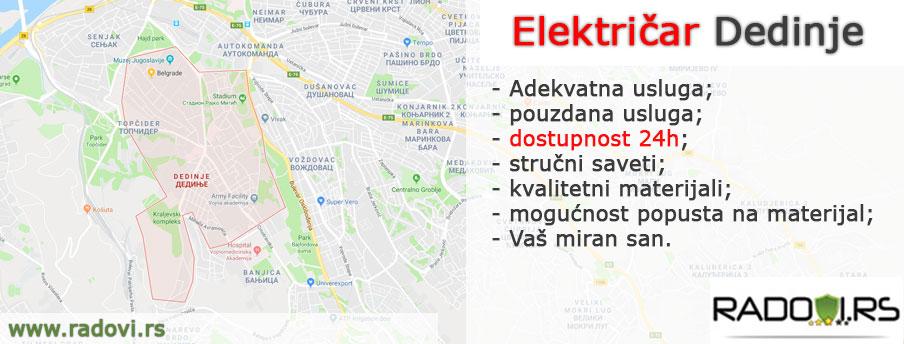 Električar Dedinje - Električar Beograd Tim - Radovi.rs
