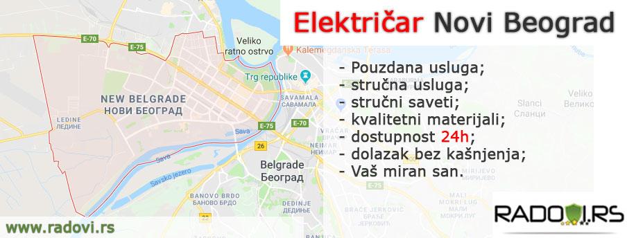 Električar Novi Beograd - Električar Beograd Tim