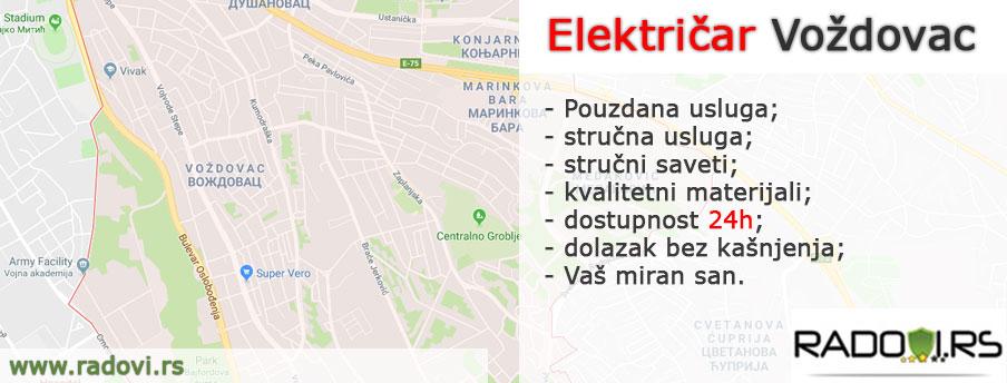 Električar Voždovac - Električar Beograd Tim - Radovi.rs