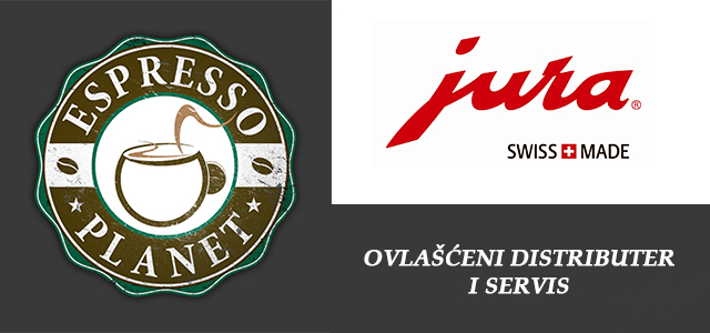 Distributer i servis - Jura Srbija - Espresso Planet Tim