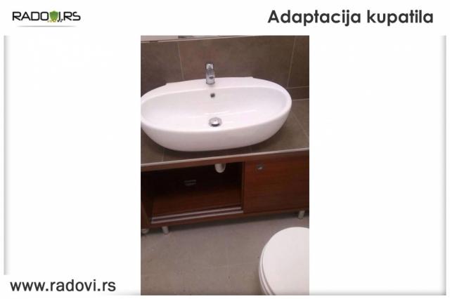 Adaptacija kupatila - Radovi.rs Tim